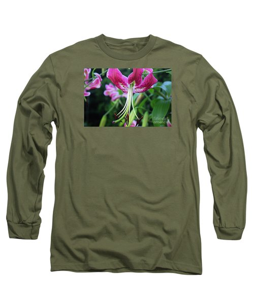 Lily At The Church Long Sleeve T-Shirt