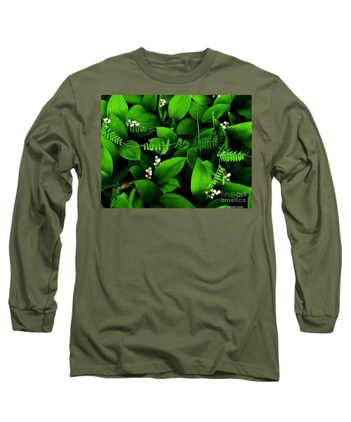 Lily Of The Valley Long Sleeve T-Shirt by Elfriede Fulda