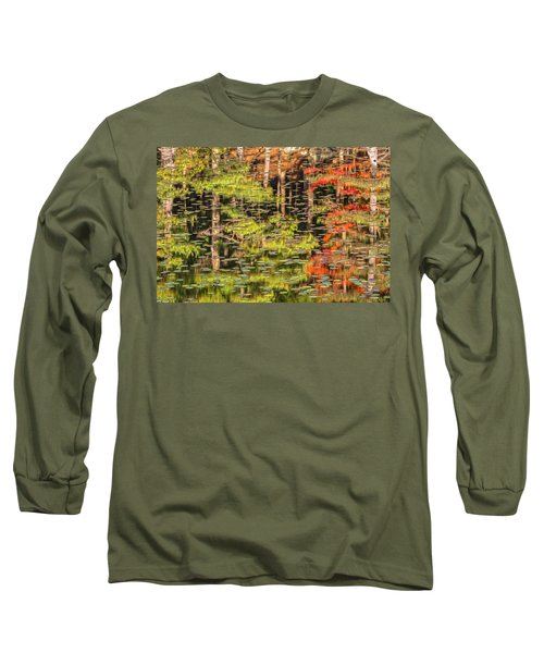 Lily Pad Abstract II Long Sleeve T-Shirt