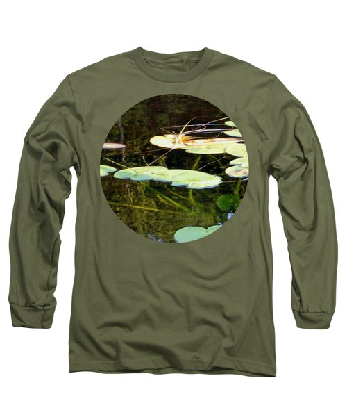 Lily Pads On The Lake Long Sleeve T-Shirt