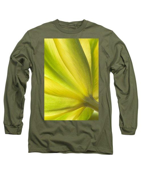 Lime Tulip Long Sleeve T-Shirt