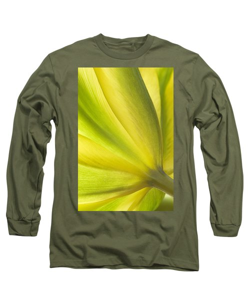Lime Tulip Long Sleeve T-Shirt