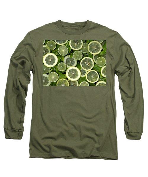 Limons Long Sleeve T-Shirt by Christian Slanec