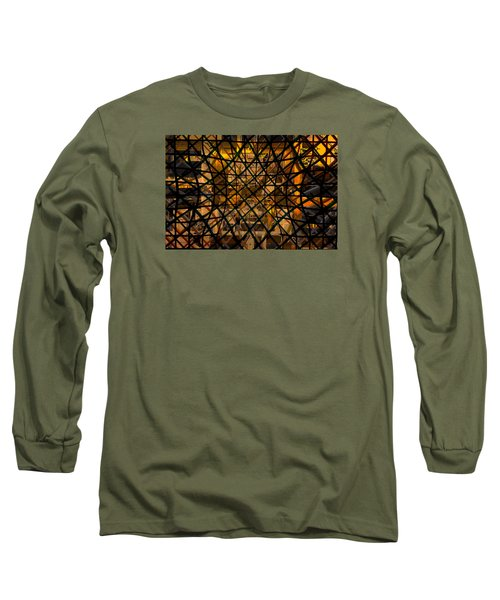 Linear Contingency Long Sleeve T-Shirt by Don Gradner