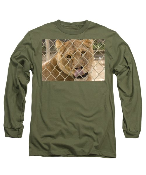 Lioness Licks Long Sleeve T-Shirt