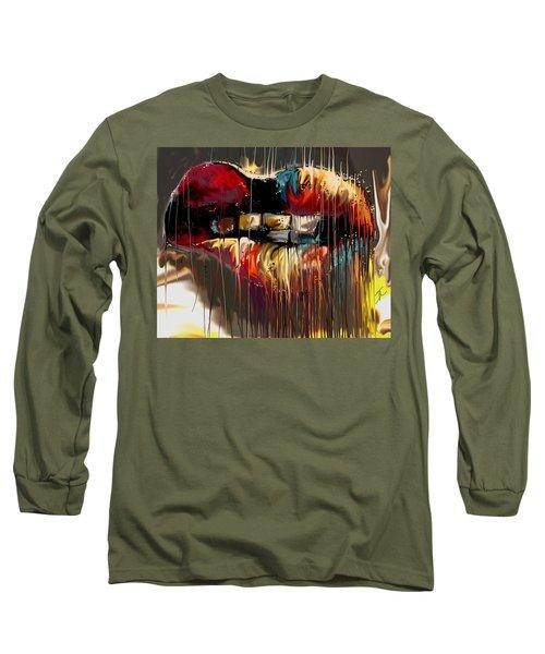 Lips Say It All Long Sleeve T-Shirt