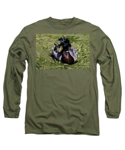 Liquid Mallard Long Sleeve T-Shirt