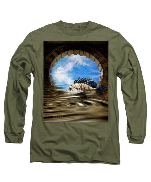 Liquid Obscura Long Sleeve T-Shirt