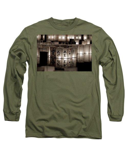 Lit Memories Long Sleeve T-Shirt by Greg Fortier