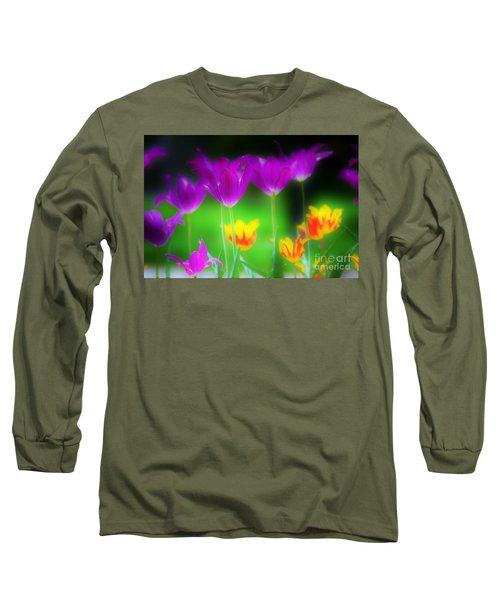 Lite From Below Long Sleeve T-Shirt