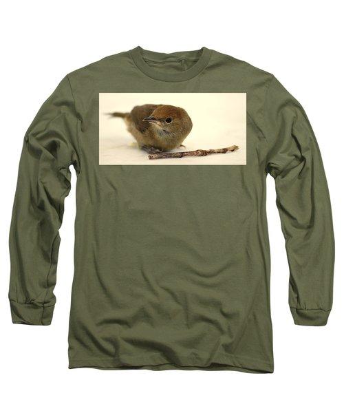 Little Bird 2 Long Sleeve T-Shirt by Pierre Van Dijk