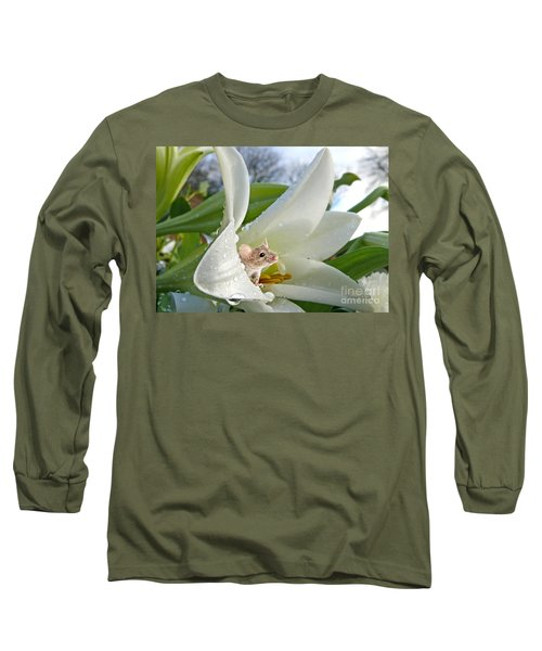 Little Field Mouse Long Sleeve T-Shirt