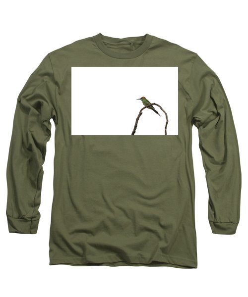 Little Green Bee Eater  Merops Orientalis  Long Sleeve T-Shirt