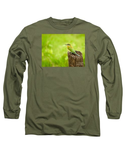 Little Green Bee-eater Long Sleeve T-Shirt