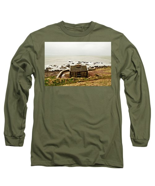 Little House At The Nigg Bay. Long Sleeve T-Shirt