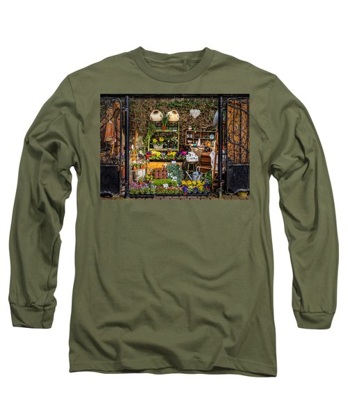 Long Sleeve T-Shirt featuring the photograph Little Market by Nick Bywater