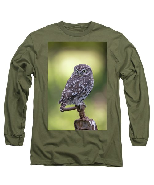 Little Owl Pipe Bender Long Sleeve T-Shirt