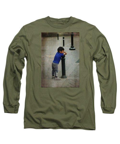 Little Peruvian Boy Long Sleeve T-Shirt