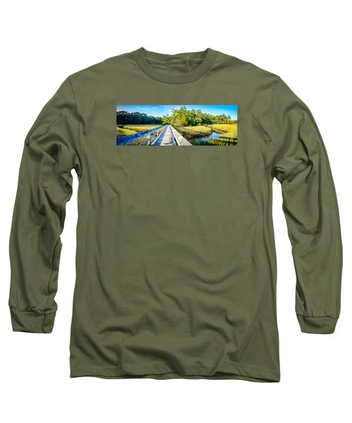 Little River Marsh Long Sleeve T-Shirt by David Smith