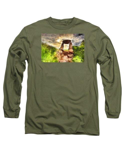 Little Stonehenge Long Sleeve T-Shirt