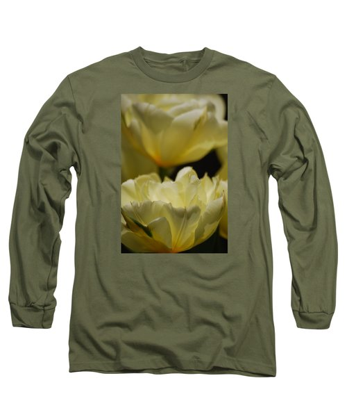 Long Sleeve T-Shirt featuring the photograph Little Teacups by Ramona Whiteaker