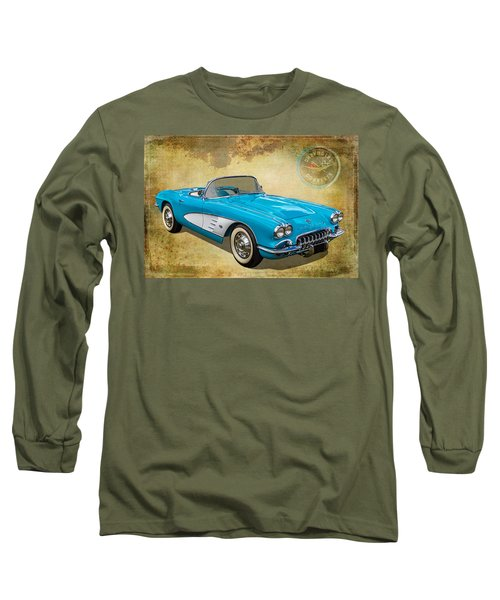 Little Vette Long Sleeve T-Shirt by Keith Hawley