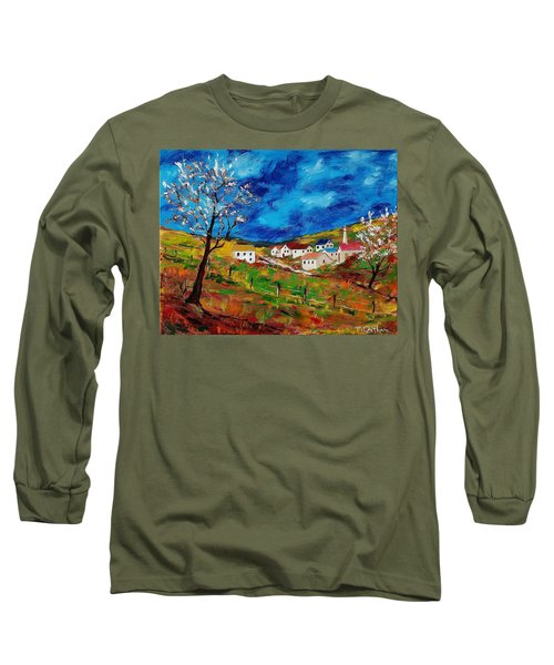 Little Village Long Sleeve T-Shirt by Mike Caitham