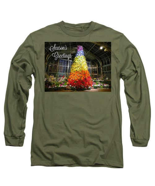 Living Color Season's Greetings Long Sleeve T-Shirt