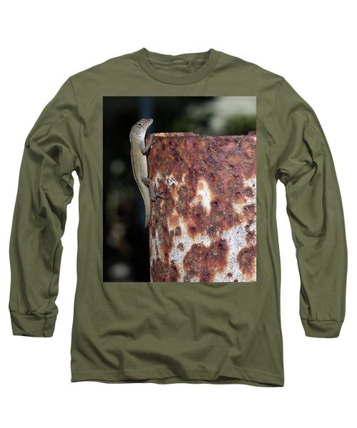 Long Sleeve T-Shirt featuring the photograph Lizzy by Richard Rizzo