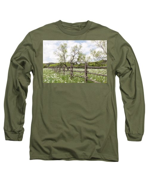 Llano County Wildflowers Long Sleeve T-Shirt