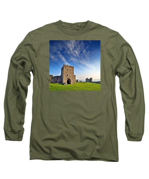 Llansteffan Castle 1 Long Sleeve T-Shirt