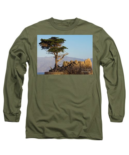 Lone Cypress Tree  Long Sleeve T-Shirt