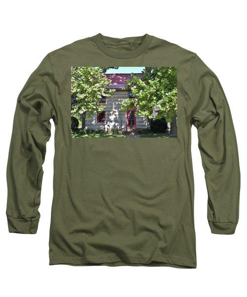 Log Cabin 5 - Lewes Delaware  Long Sleeve T-Shirt