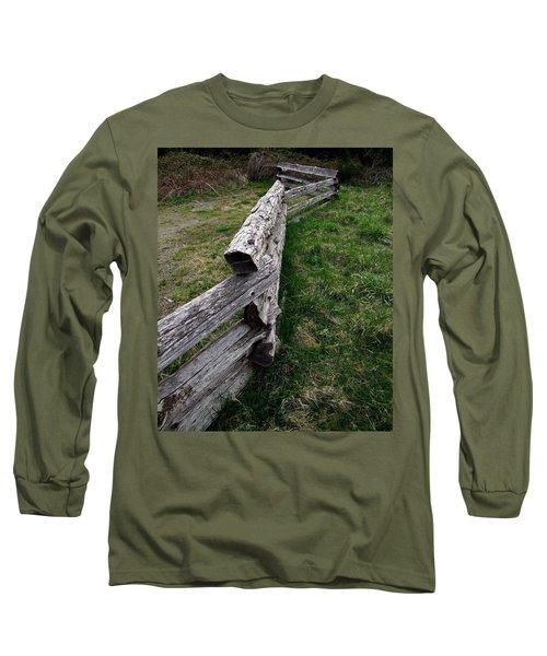 Log Fence Long Sleeve T-Shirt