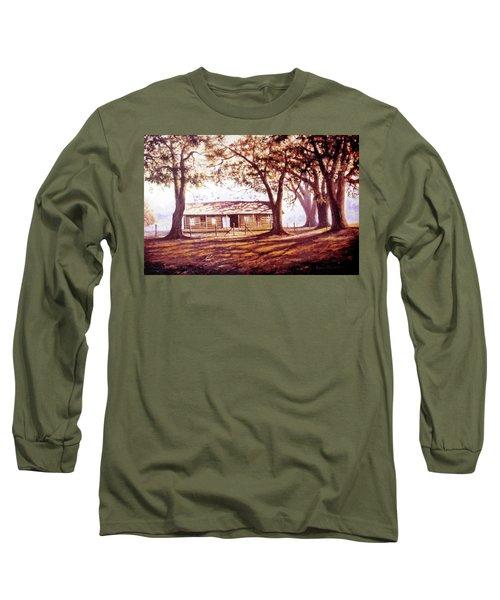 Log House On 421 Long Sleeve T-Shirt