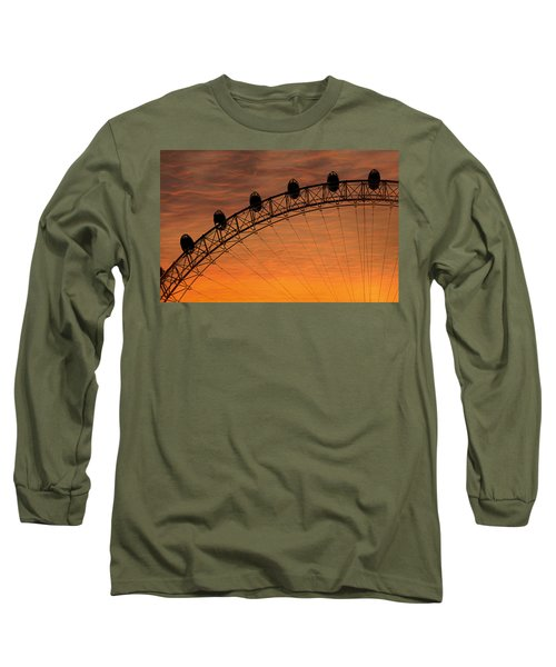 London Eye Sunset Long Sleeve T-Shirt