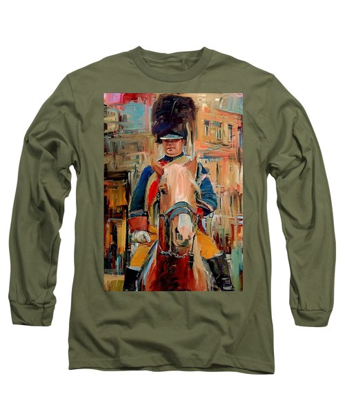 London Guard On Horse Long Sleeve T-Shirt