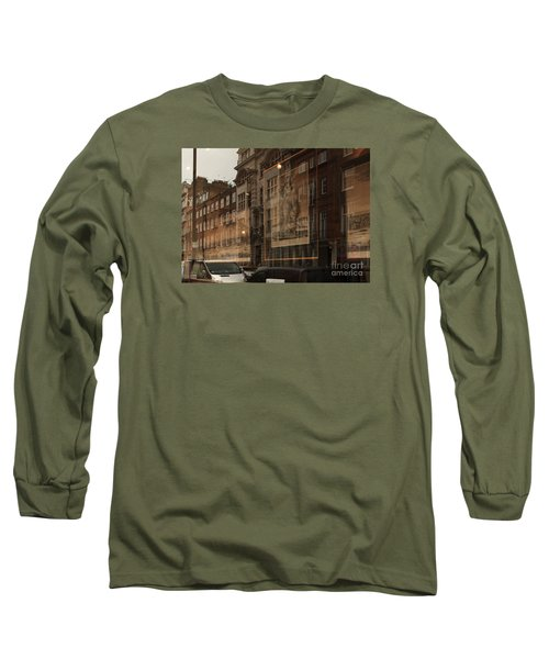 London,window Reflections Long Sleeve T-Shirt