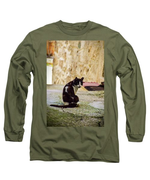 Lone Cat Long Sleeve T-Shirt