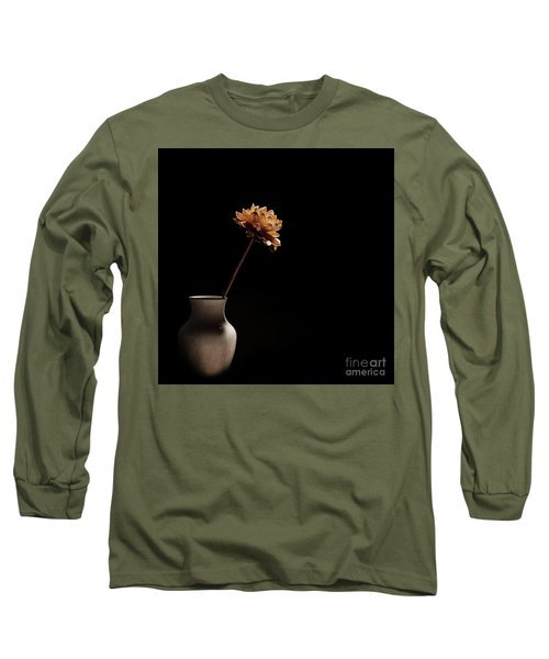 Lone Flower Long Sleeve T-Shirt