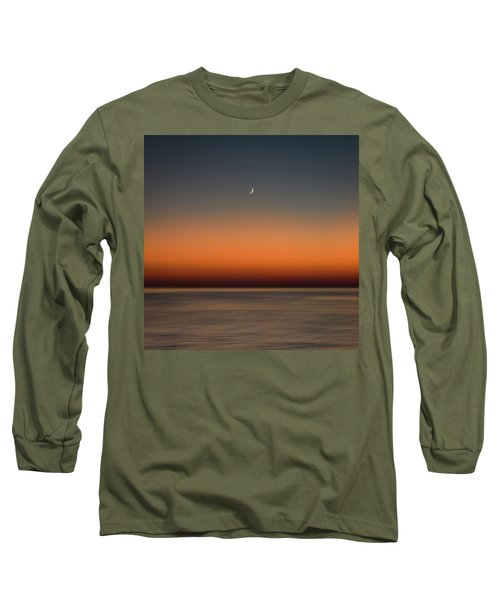 Lonely Moon Long Sleeve T-Shirt