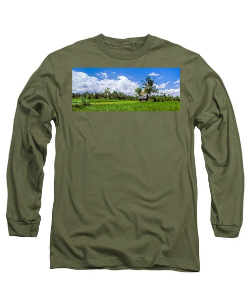 Lonely Rice Hut Long Sleeve T-Shirt