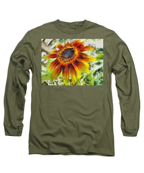 Lonely Sunflower Long Sleeve T-Shirt