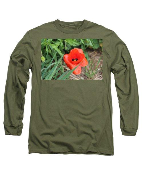 Lonesome Poppy Long Sleeve T-Shirt