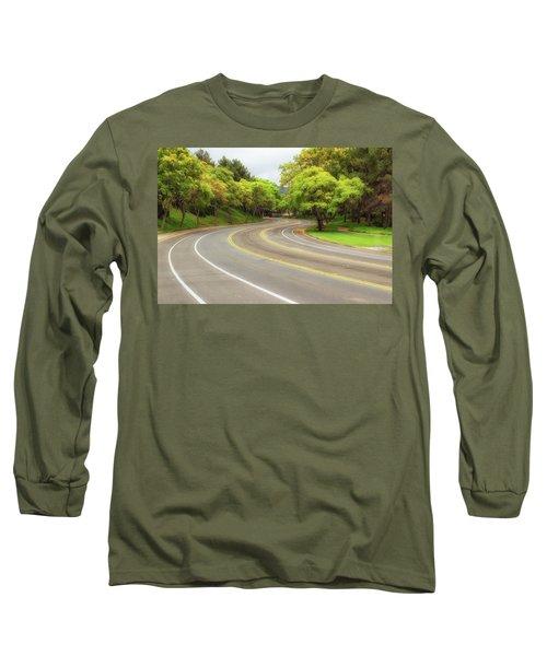 Long And Winding Road Long Sleeve T-Shirt