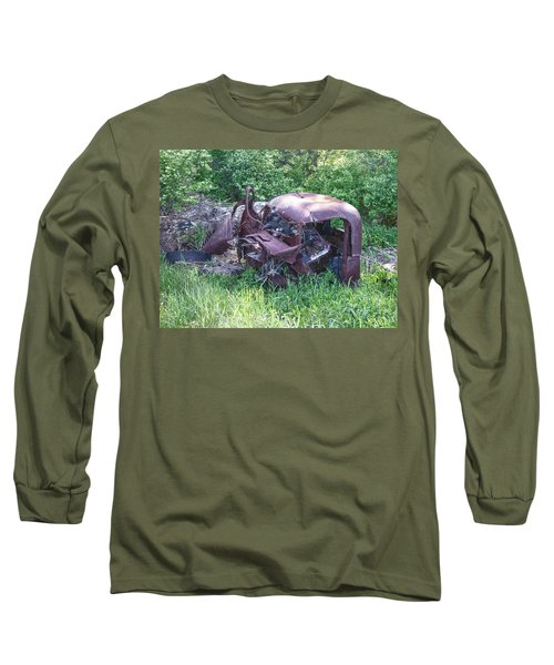 Long Sleeve T-Shirt featuring the photograph Long Forgotten 2808 by Guy Whiteley