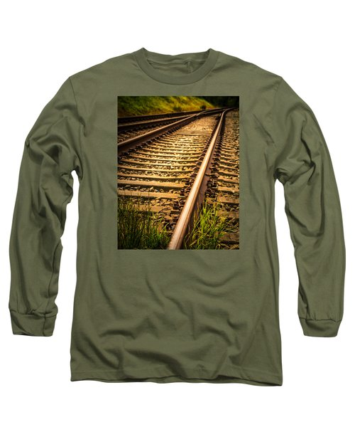 Long Sleeve T-Shirt featuring the photograph Long Gone by Odd Jeppesen