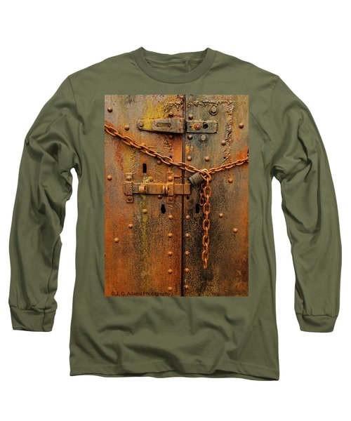 Long Locked Iron Door Long Sleeve T-Shirt