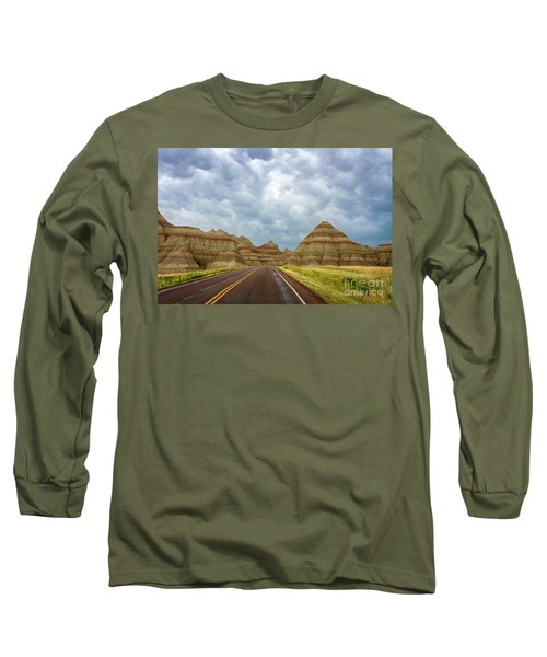 Long Lonesome Highway Long Sleeve T-Shirt