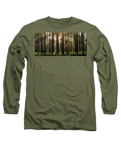 Longleaf Pine Forest Long Sleeve T-Shirt